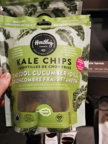Kale Chips - Cucumber Dill